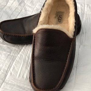 UGGs leather Ascot loafer slippers